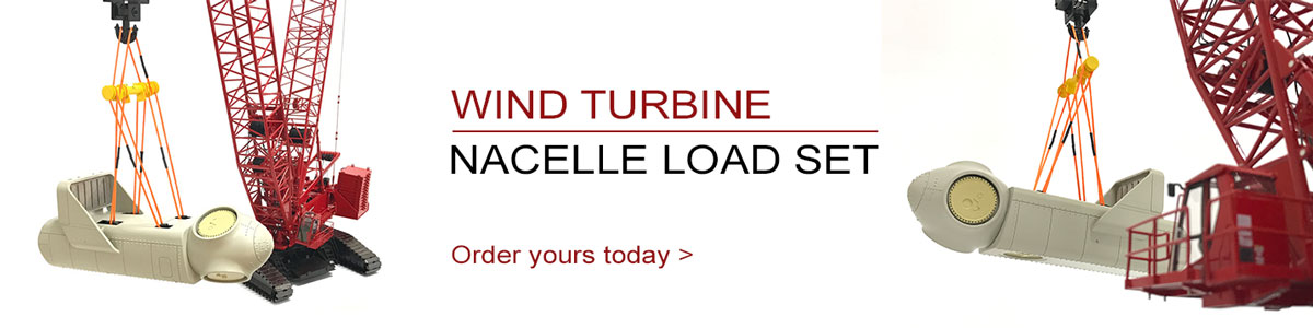 Order your wind turbine nacelle crane load set today!